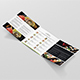 Brochure – Sushi Restaurant Tri-Fold Square - GraphicRiver Item for Sale