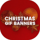 Animated GIF Christmas Banners Ad