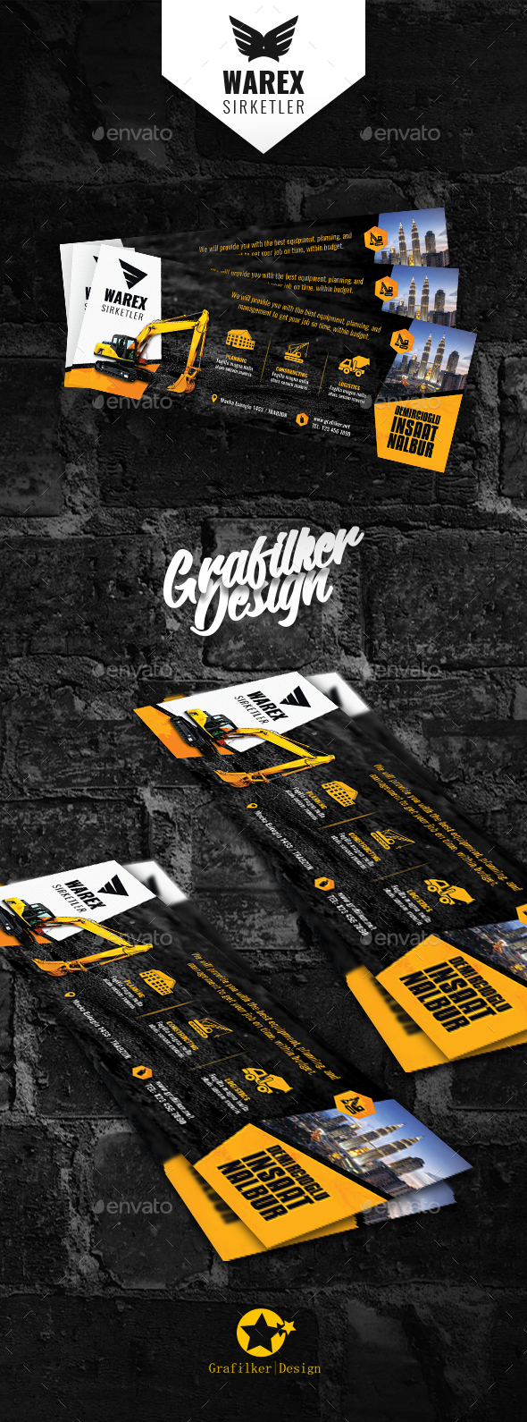 GraphicRiver Construction Cover Templates 21127525
