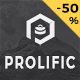 Prolific - One Page Parallax