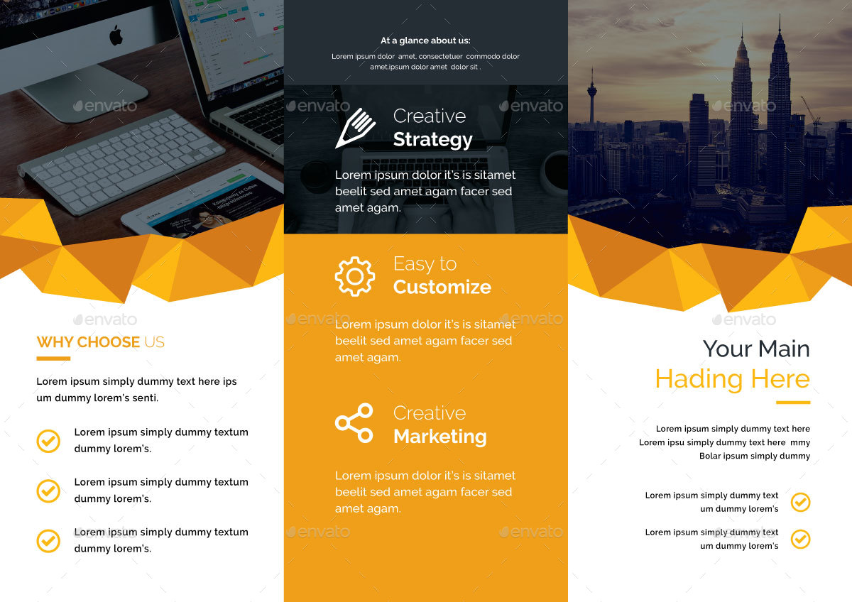 Corporate Trifold Brochure By StyleZone