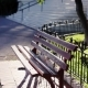 Monaco City Town Monte Carlo Street Bench in the Street Sunny Day - VideoHive Item for Sale