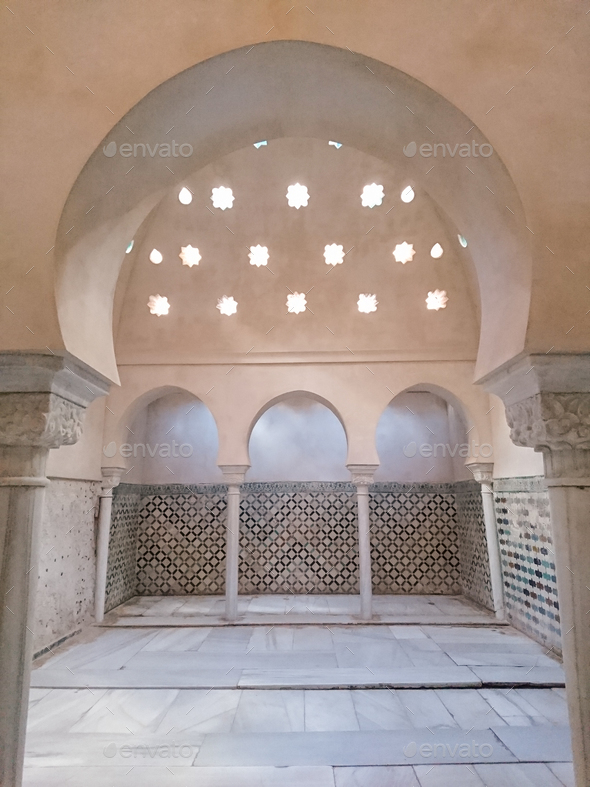 A Hammam (arab bath) - Stock Photo - Images