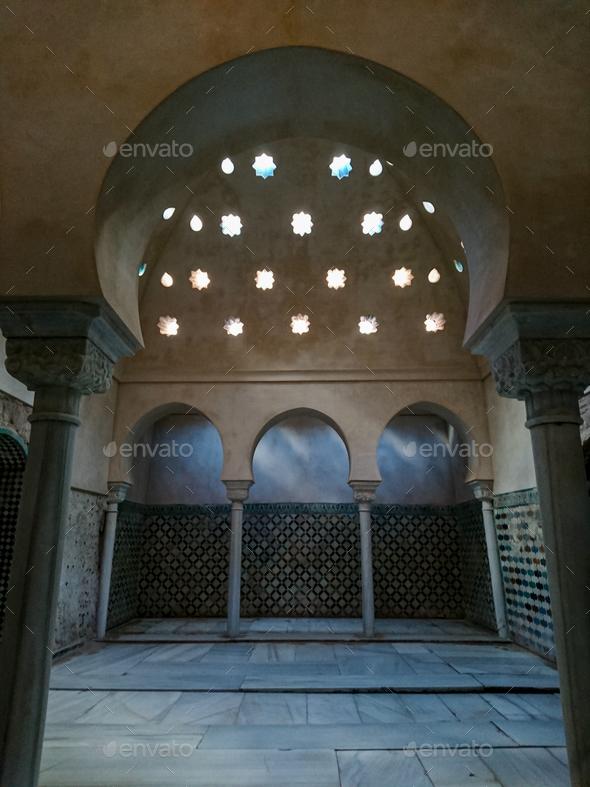 A Hammam (arab bath) - Stock Photo - Images
