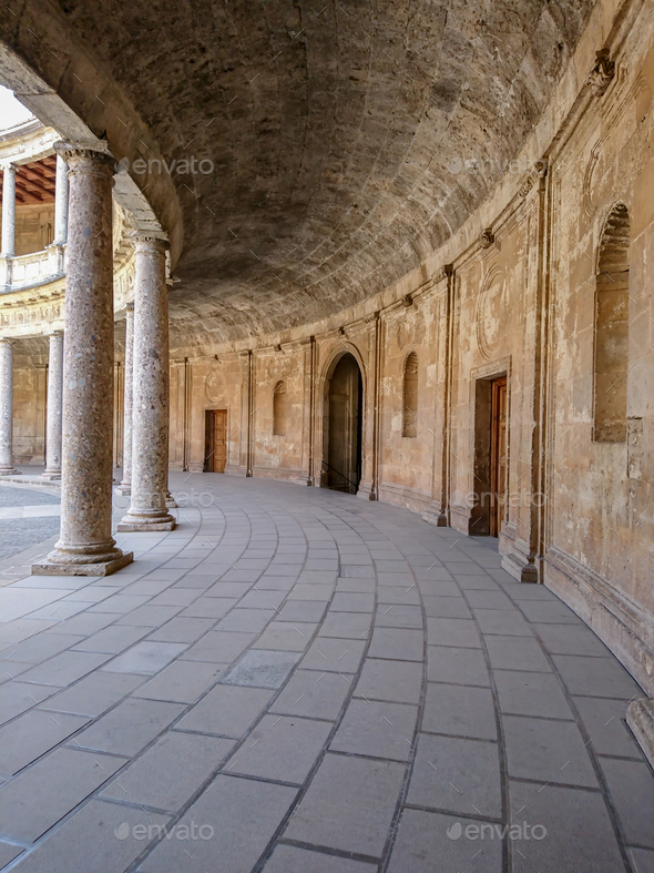 Palace of Charles V - Stock Photo - Images
