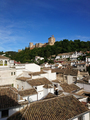 Views of the Alhambra from the streets of the Albayzin neighborhood - PhotoDune Item for Sale
