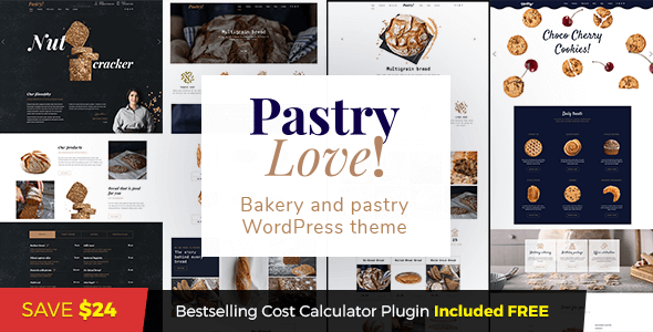 Image of Pastry Love - Bakery and Patisserie WordPress Theme