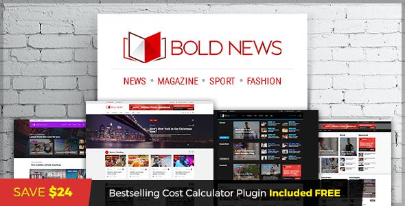 Bold News - Magazine News Newspaper - News / Editorial Blog / Magazine