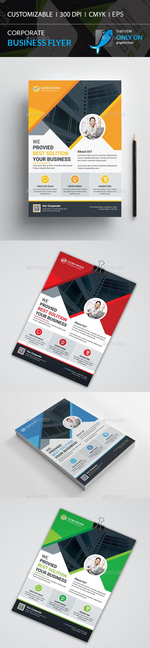 GraphicRiver Corporate Flyer 21128265
