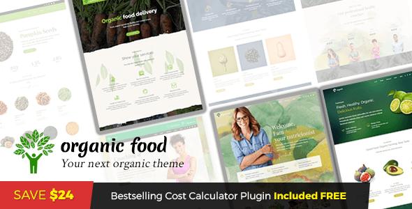 Organic Food - Nutritionist & Food WordPress Theme - Food Retail