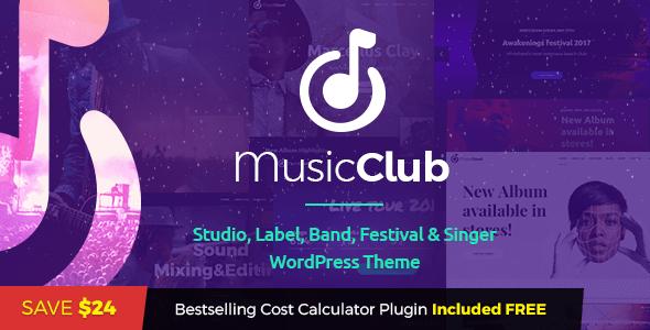Image of Music Club - Music, Band, Studio & DJ
