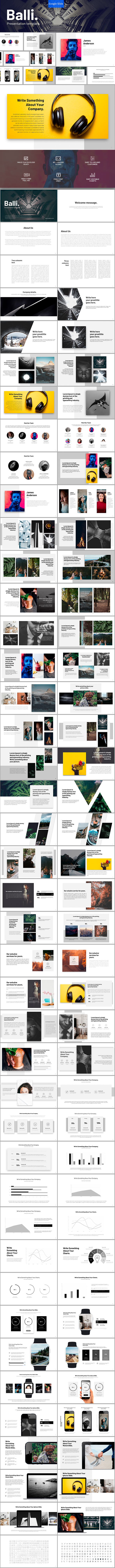 GraphicRiver Balli Google Slides 21128391