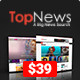 TopNews - News Magazine Newspaper Blog Viral & Buzz WordPress Theme