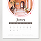 2018 Creative Calendar - GraphicRiver Item for Sale
