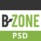 BZONE - one page Multipurpose psd template