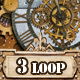 Steampunk Clock Gears - VideoHive Item for Sale
