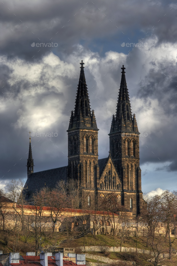 Chapter Church of St Peter and Paul - Stock Photo - Images