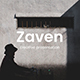 Zaven Creative Keynote Template - GraphicRiver Item for Sale