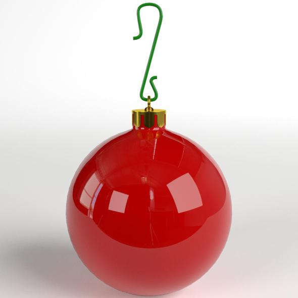 3DOcean Christmas Ball glossy 21128777