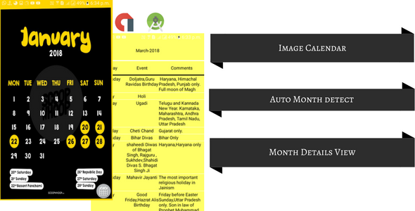 Download Source code              Calendar Image App            nulled nulled version
