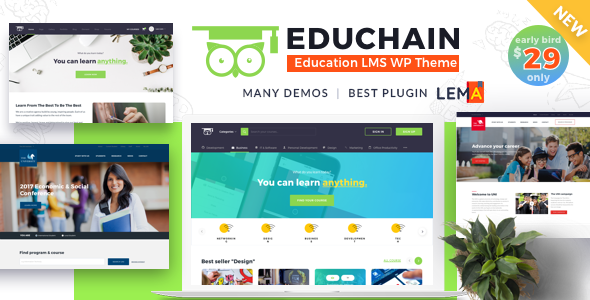 Image of EduChain - Education & LMS WordPress