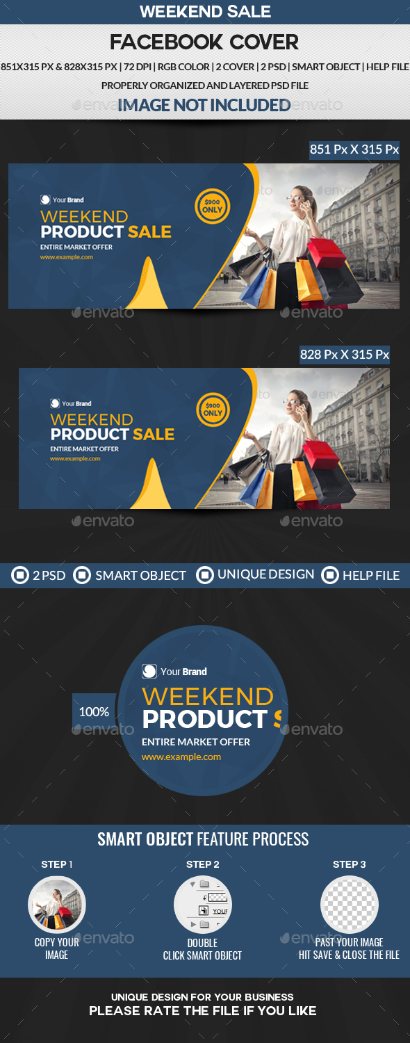 GraphicRiver Product Sale Facebook Cover 21128846