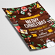 Marry Christmas Flyer Template