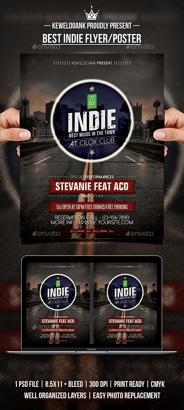 Best Indie Flyer / Poster - Events Flyers