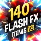 Download 140 Flash FX Elements from VideHive