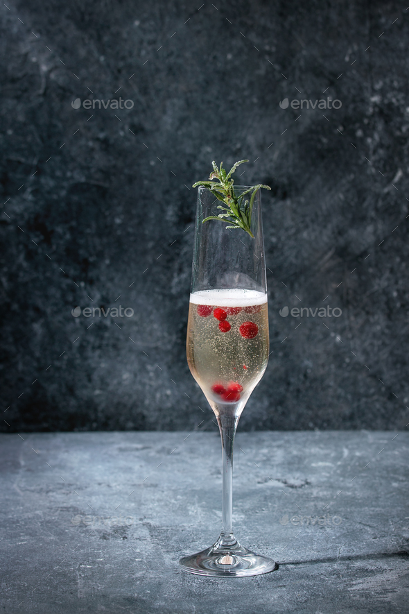 Glass of champagne - Stock Photo - Images