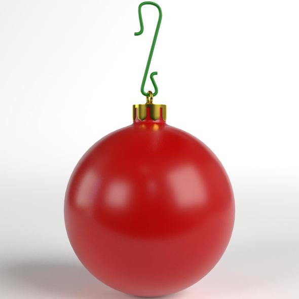 3DOcean Christmas Ball matte 21129008