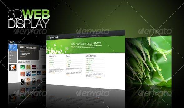 3d Web Display by fenixkim | GraphicRiver