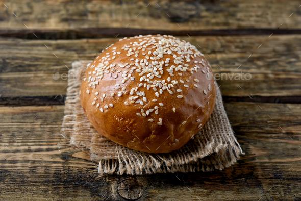 Burger bun - Stock Photo - Images