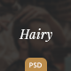 Hairy - Barber Salon PSD Template - ThemeForest Item for Sale