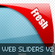 Web 2.0 Sliders Mega Pack V2 - GraphicRiver Item for Sale