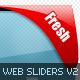 Web 2.0 Sliders Mega Pack V2 - GraphicRiver Item for Sale