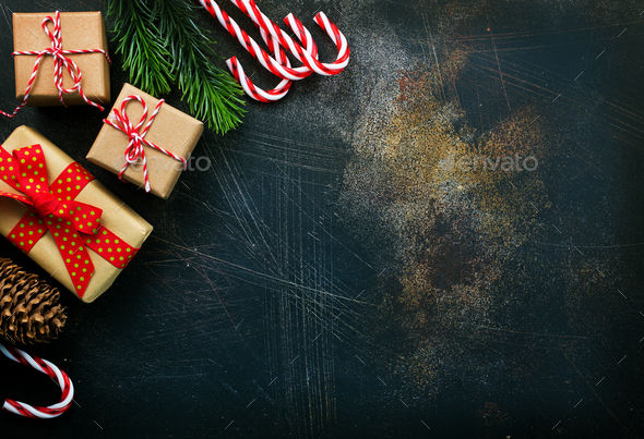christmas background - Stock Photo - Images