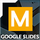 Minimal Google Slides Template - GraphicRiver Item for Sale