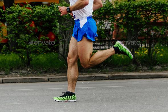 male runner athlete - Stock Photo - Images