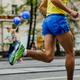 feet male athlete runner