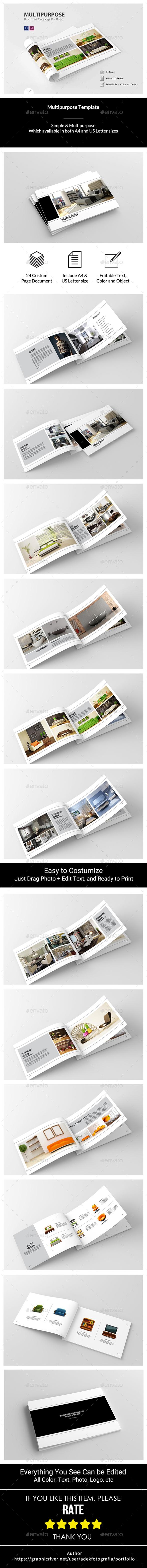 Multipurpose Template - Portfolio Brochures