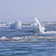 Chunks of Ice Drifting Out to The Atlantic Ocean - VideoHive Item for Sale