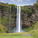 Seljalandsfoss Waterfalls in Iceland - VideoHive Item for Sale