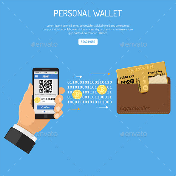 GraphicRiver Crypto Currency Bitcoin Technology Concept 21129700
