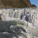 Waterfall Gullfoss in Iceland - VideoHive Item for Sale