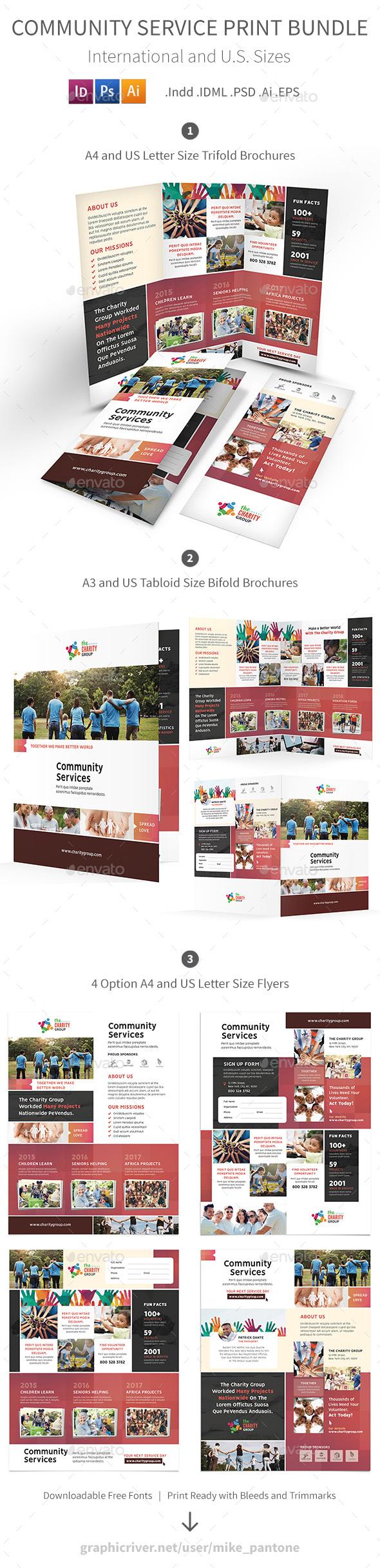 GraphicRiver Community Service Print Bundle 2 21129852