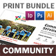Community Service Print Bundle 2 - GraphicRiver Item for Sale