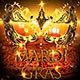 Masquerade Carnival Mardi Gras Party Flyer