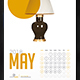 Product Calendar 2018 - GraphicRiver Item for Sale