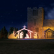 Christmas Tree With Native in Church Front - VideoHive Item for Sale